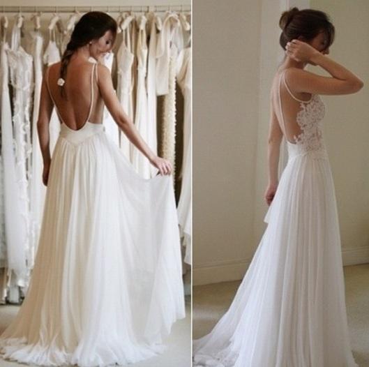 vestido noiva liso